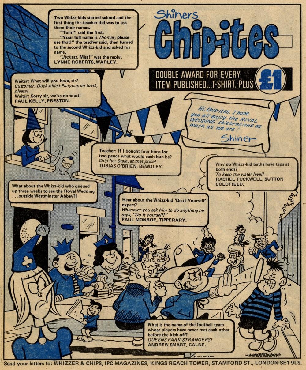 Shiner's Chip-ites: Barry Glennard (artist)