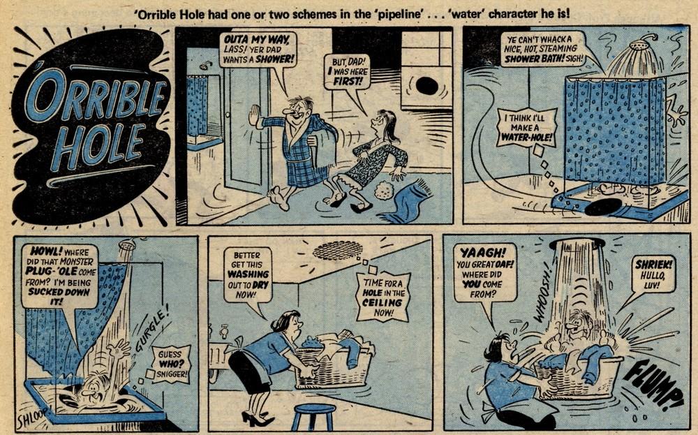 'Orrible Hole: Reg Parlett (artist)