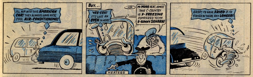 Creepy Car: Reg Parlett (artist)