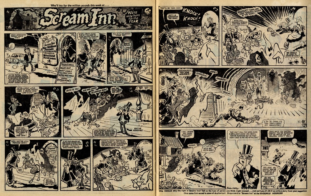 Scream Inn: Cliff Brown (writer), Brian Walker (artist)