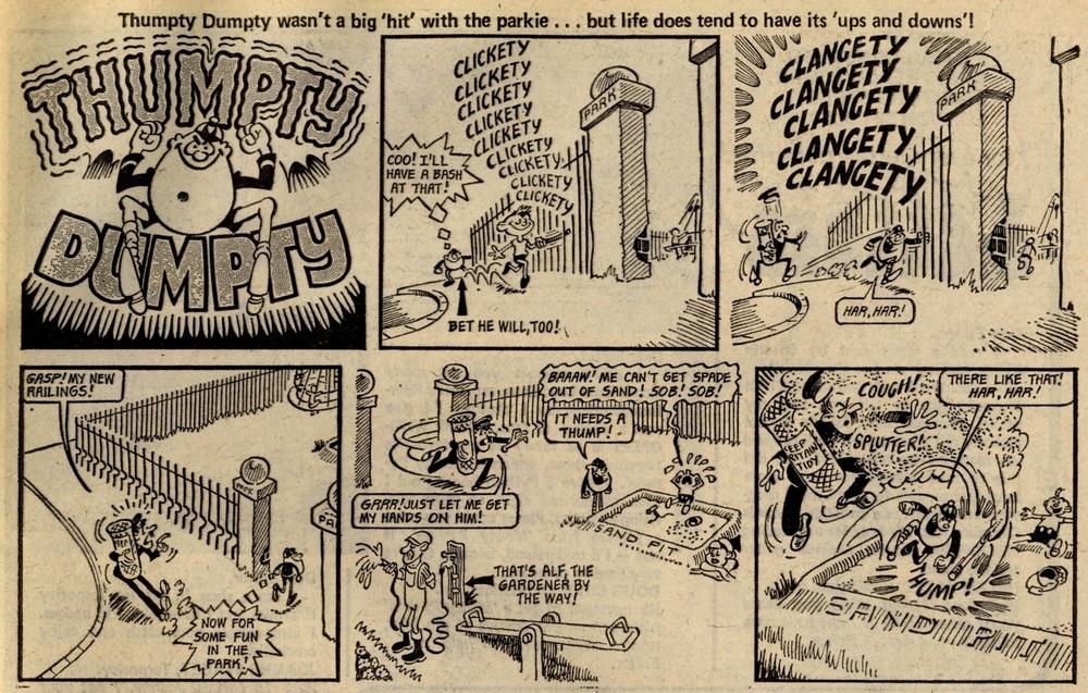 Thumpty Dumpty: Bob Hill (artist)