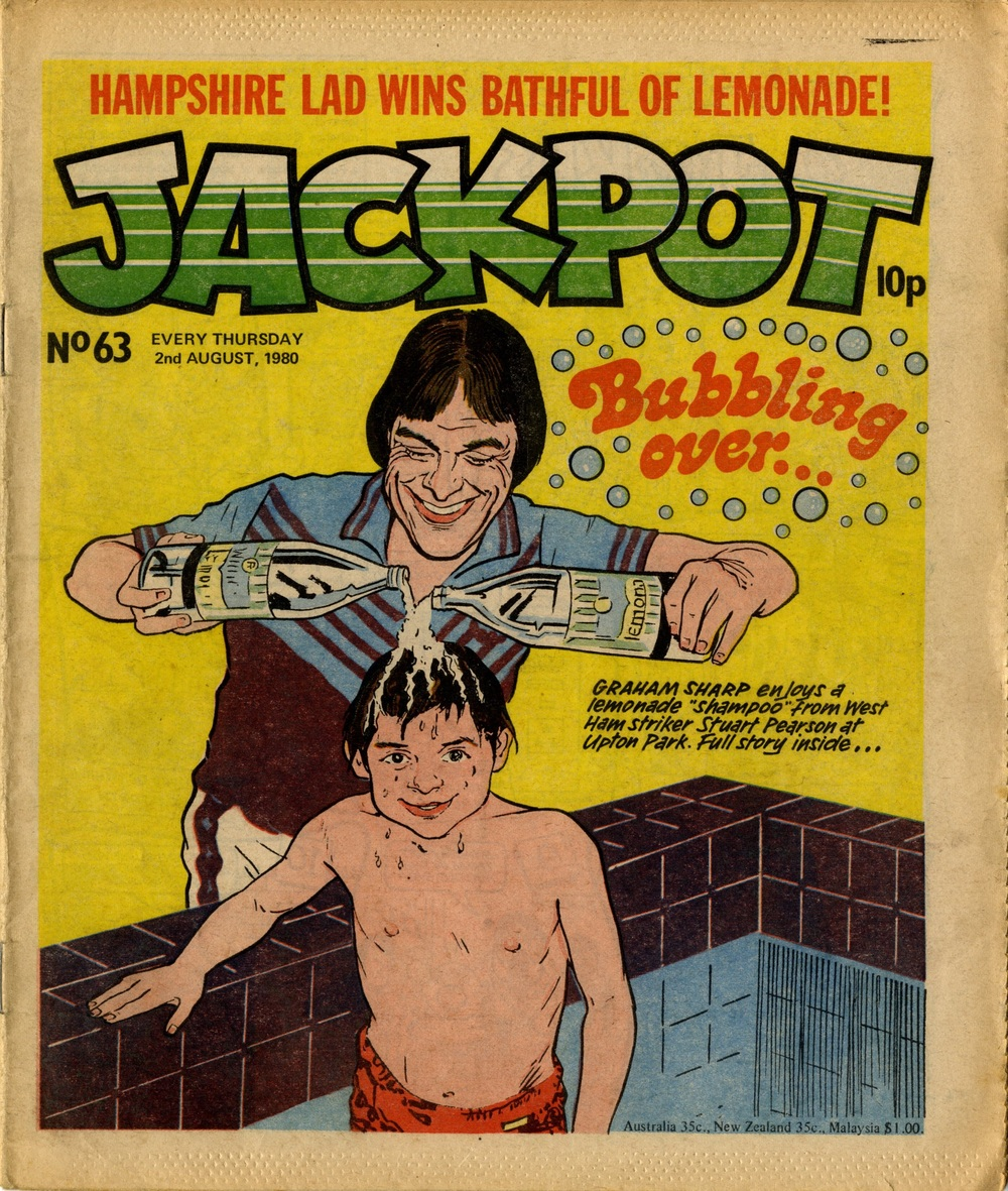 2 August 1980: Jackpot (artist unknown)