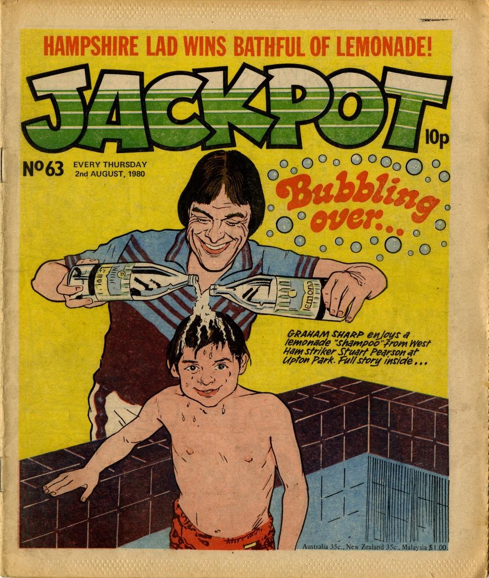 2 August 1980: Jackpot (artist unknown)