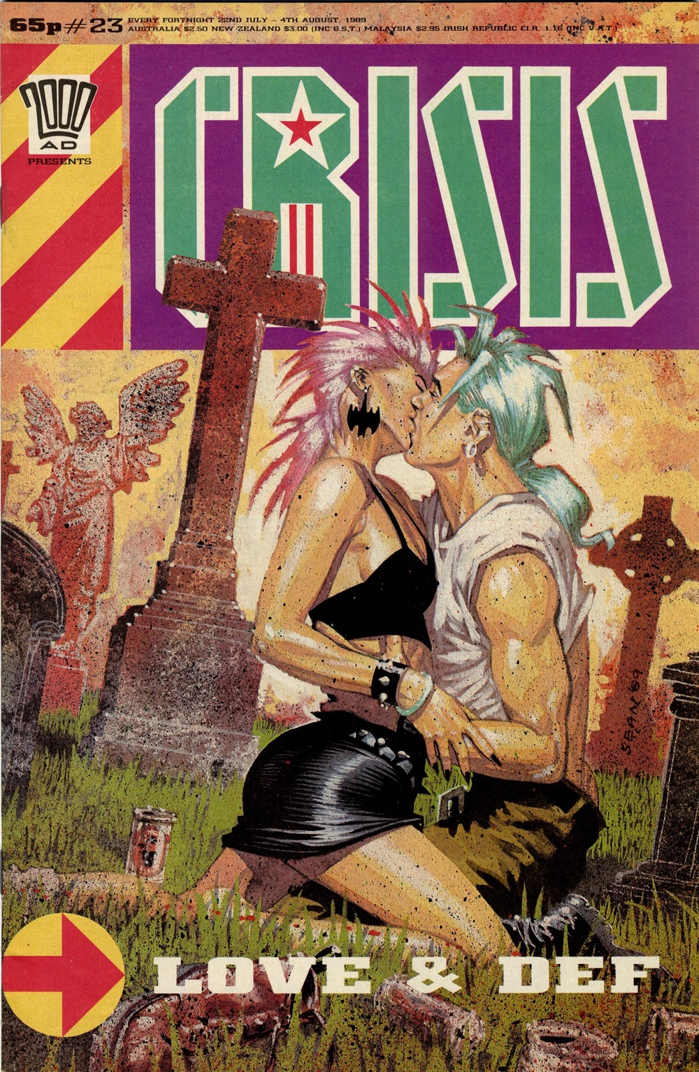 4 August 1989: Crisis (Third World War: Pat Mills (writer), Sean Phillips (artist))