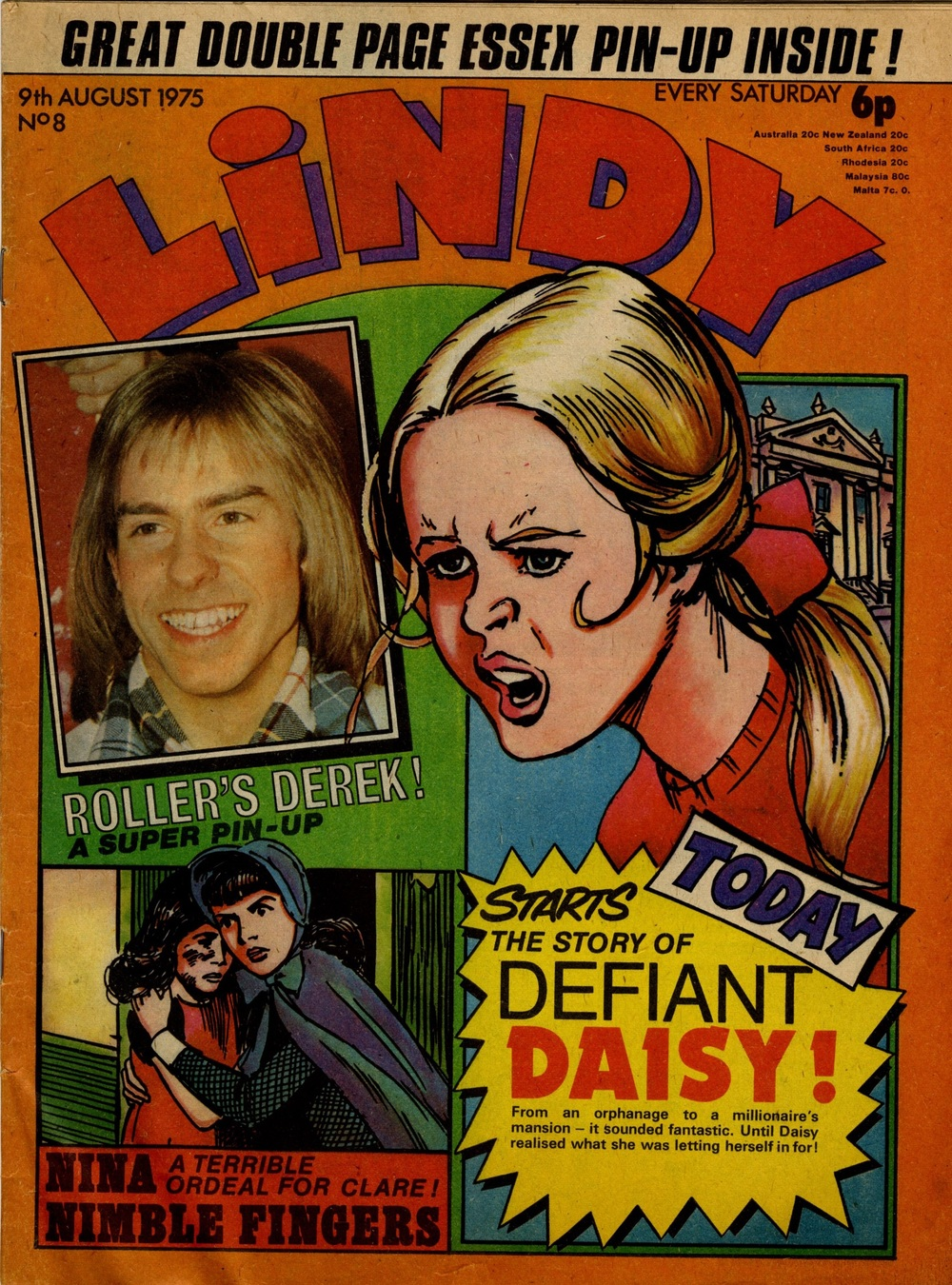 9 August 1975: Lindy