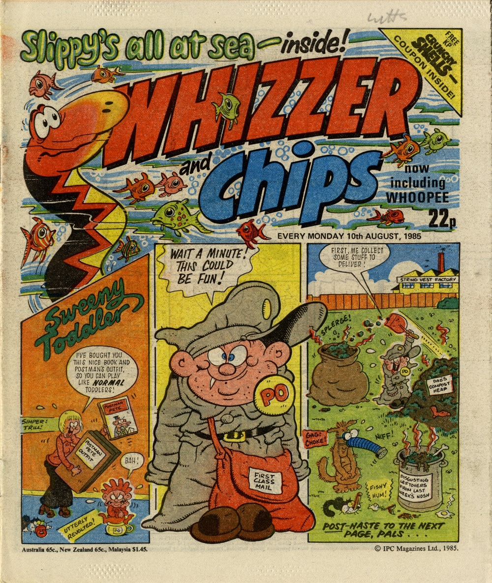 10 August 1985: Whizzer and Chips (Sweeny Toddler: Tom Paterson (artist))