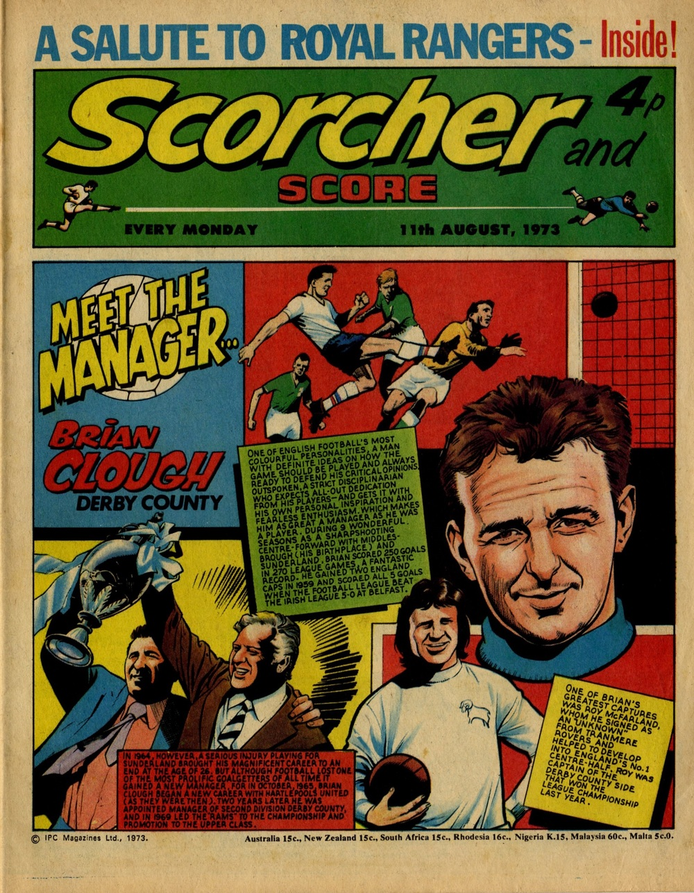 11 August 1973: Scorcher and Score (Mike Western (artist))