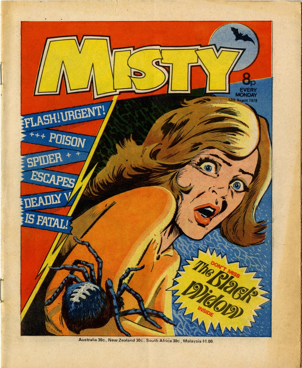 12 August 1978: Misty (The Black Widow: Jaume Rumeu (artist))