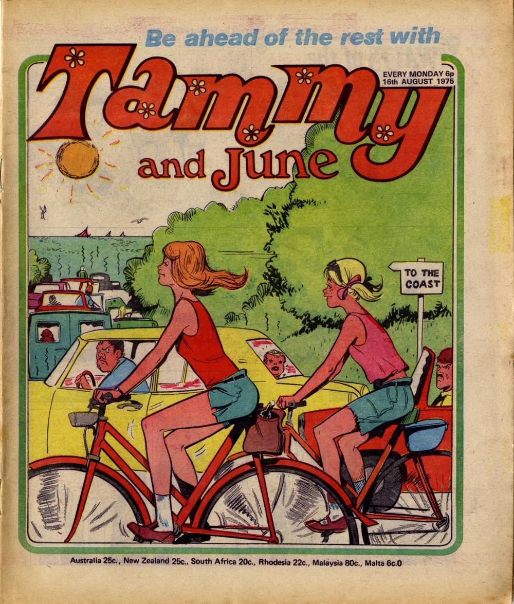 16 August 1975: Tammy and June (John Richardson (artist))