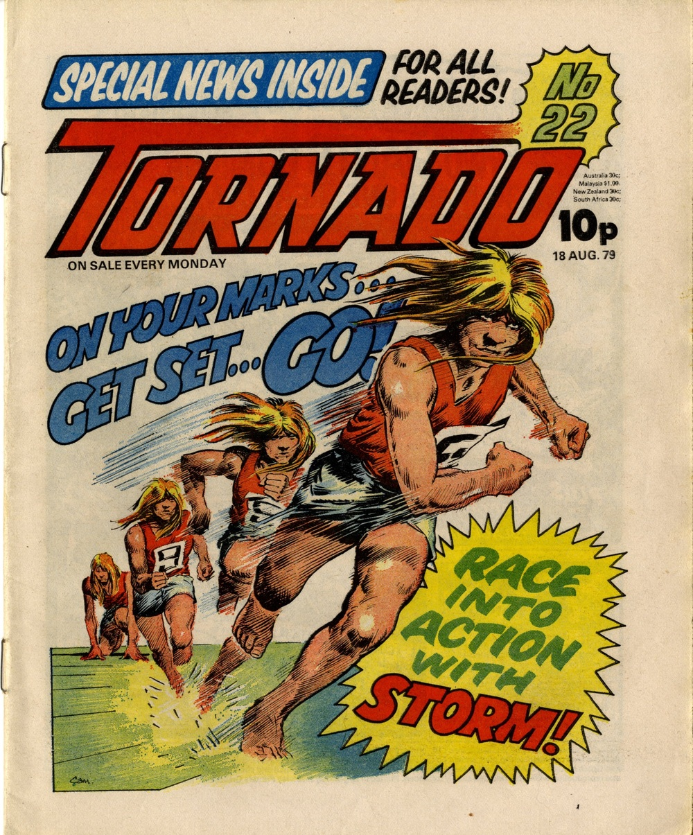 18 August 1979: Tornado (Storm: Scott Goodall (writer), Cam Kennedy (artist))