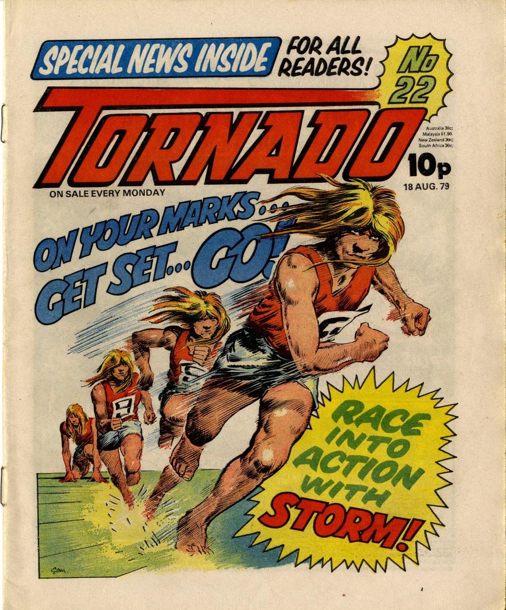 18 August 1979: Tornado (Storm: Scott Goodall (writer), Cam Kennedy (artist))