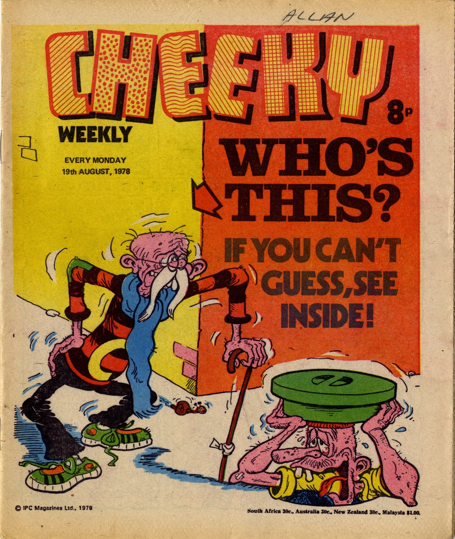 19 August 1978: Cheeky (Frank McDiarmid (artist))