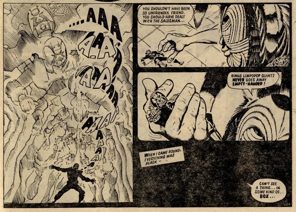 Judge Dredd: John Wagner and Alan Grant (writer), Ron Smith (artist)