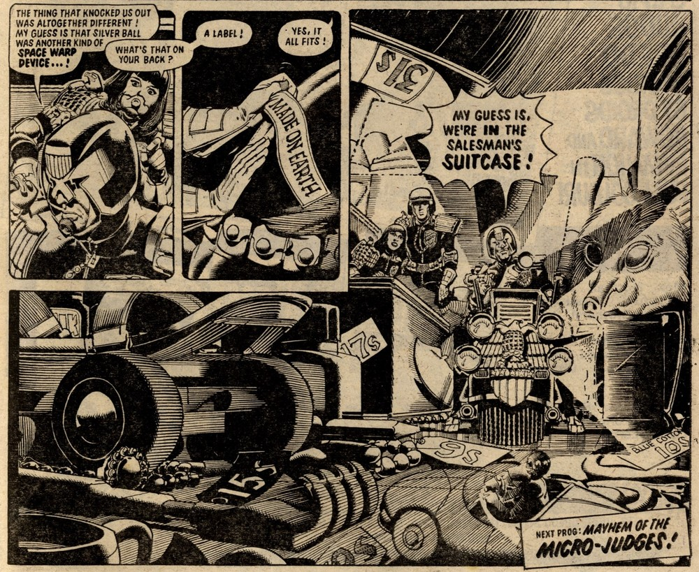 Judge Dredd: John Wagner and Alan Grant (writer), Ron Smith (artist)