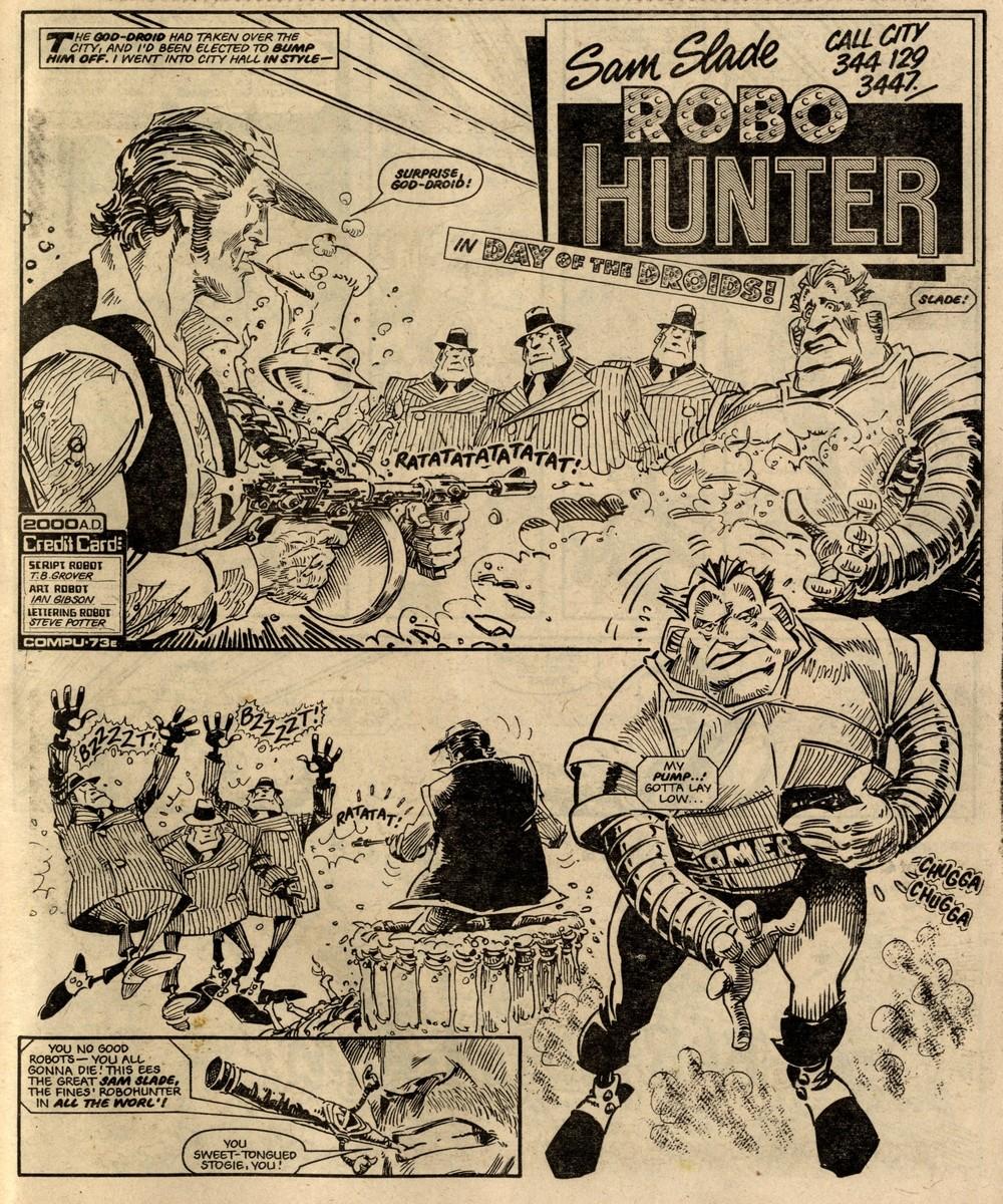 Robo Hunter: John Wagner (writer), Ian Gibson (artist)
