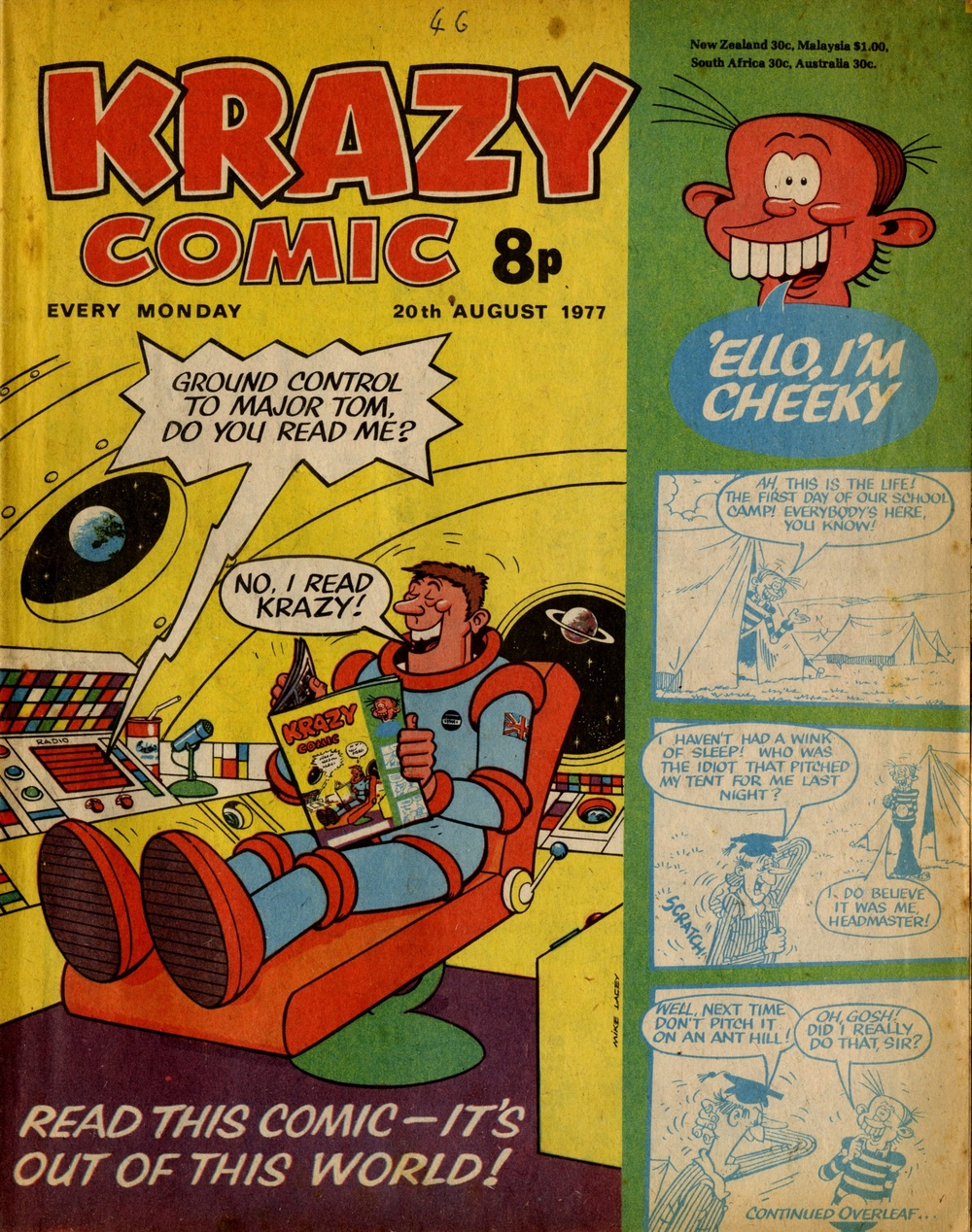 20 August 1977: Krazy (Mike Lacey (artist))