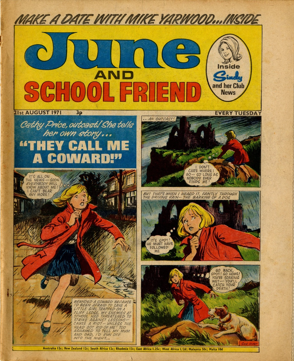 21 August 1971: June and School Friend ('They Call Me a Coward': Leslie Otway (artist))