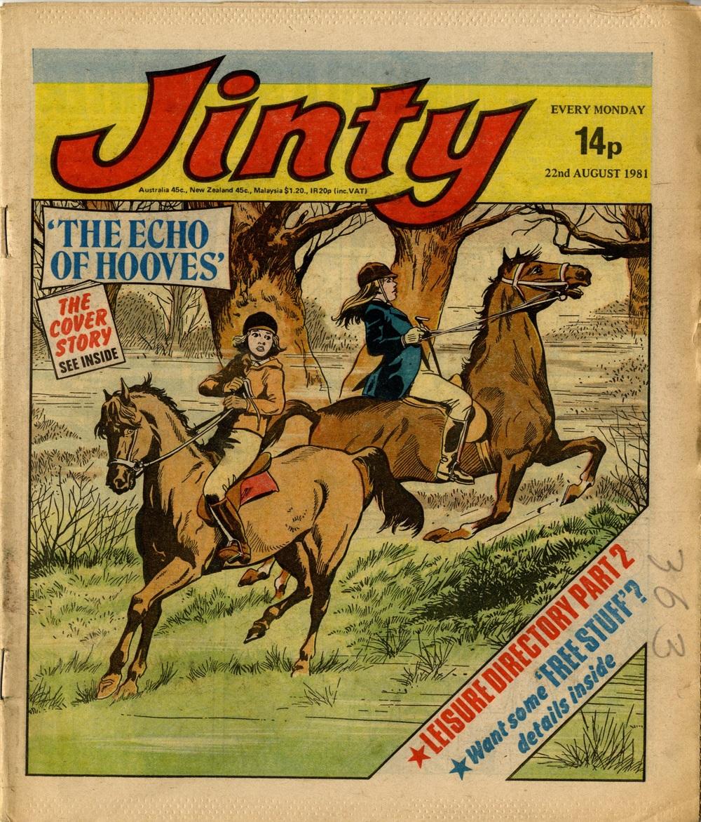 22 August 1981: Jinty (Mario Capaldi (artist))