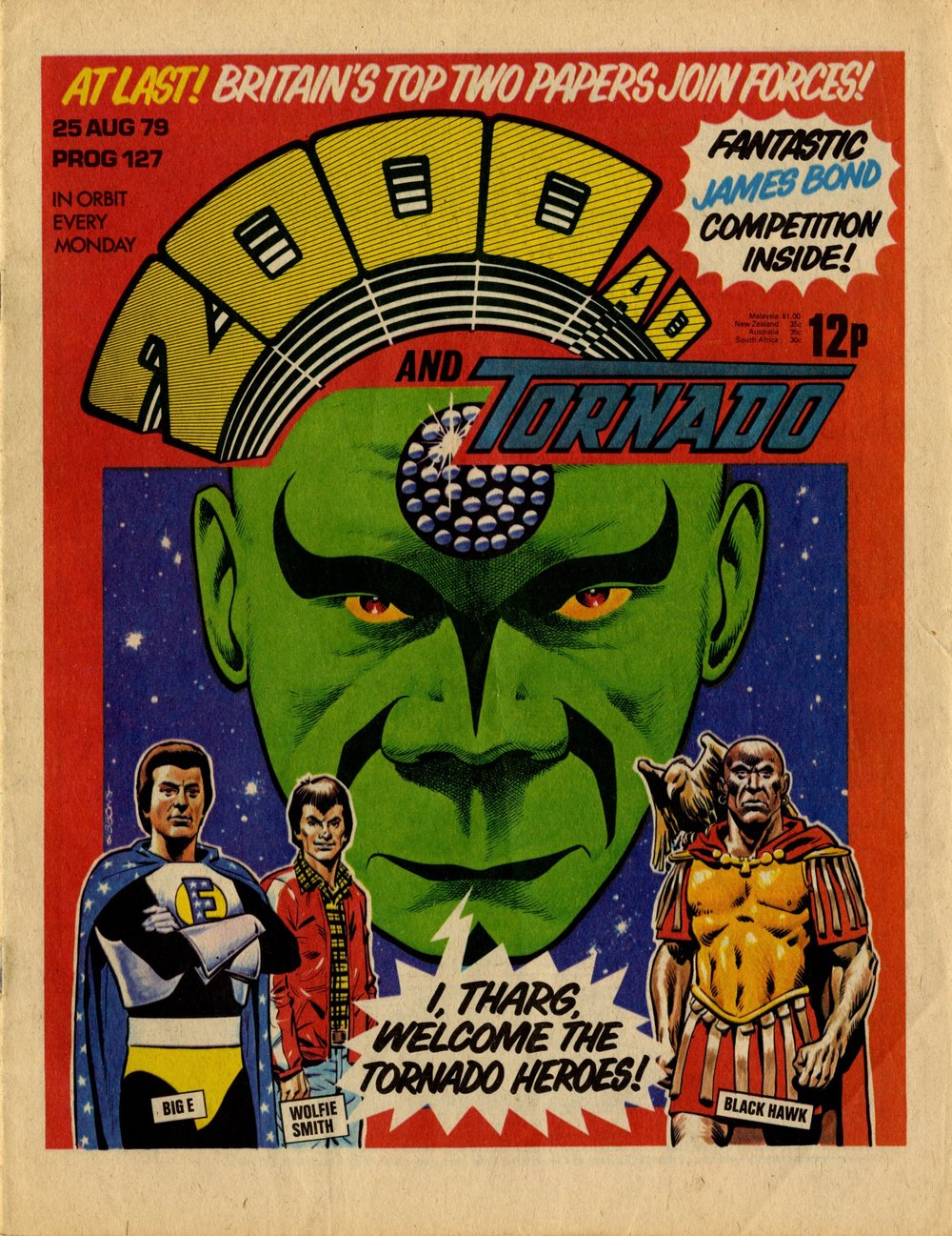 25 August 1979: 2000AD and Tornado (Dave Gibbons (artist))