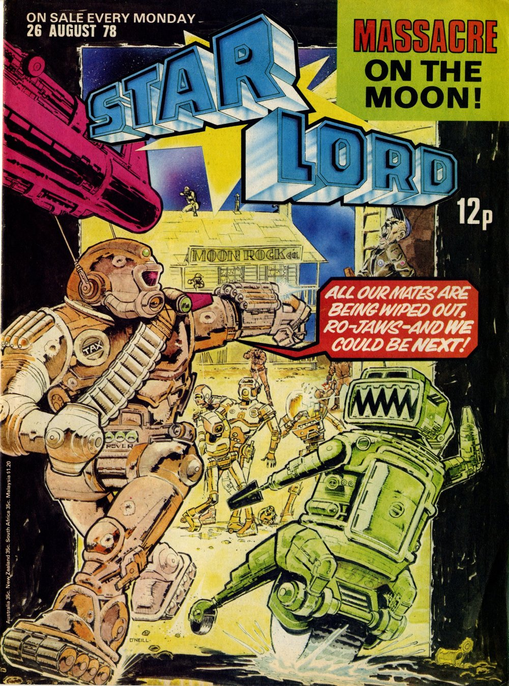 26 August 1978: Starlord (Ro-busters: Kevin O'Neill (artist))