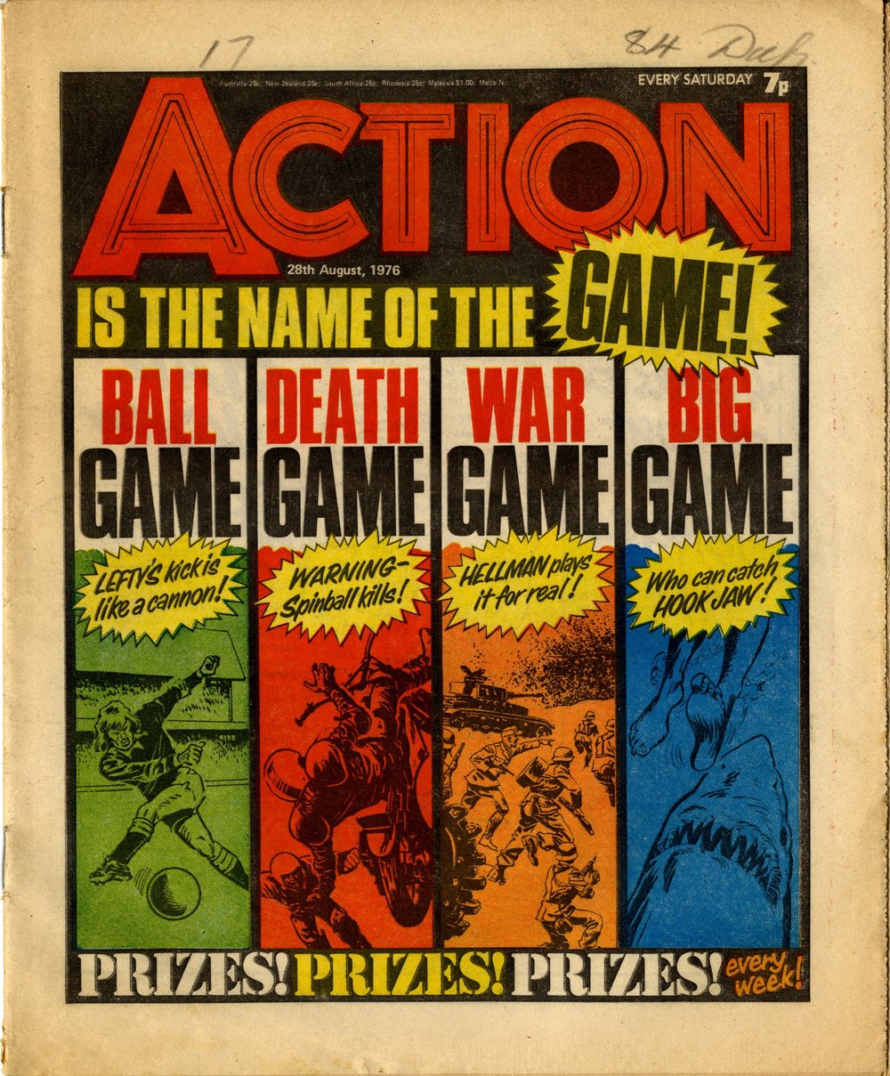 28 August 1976: Action