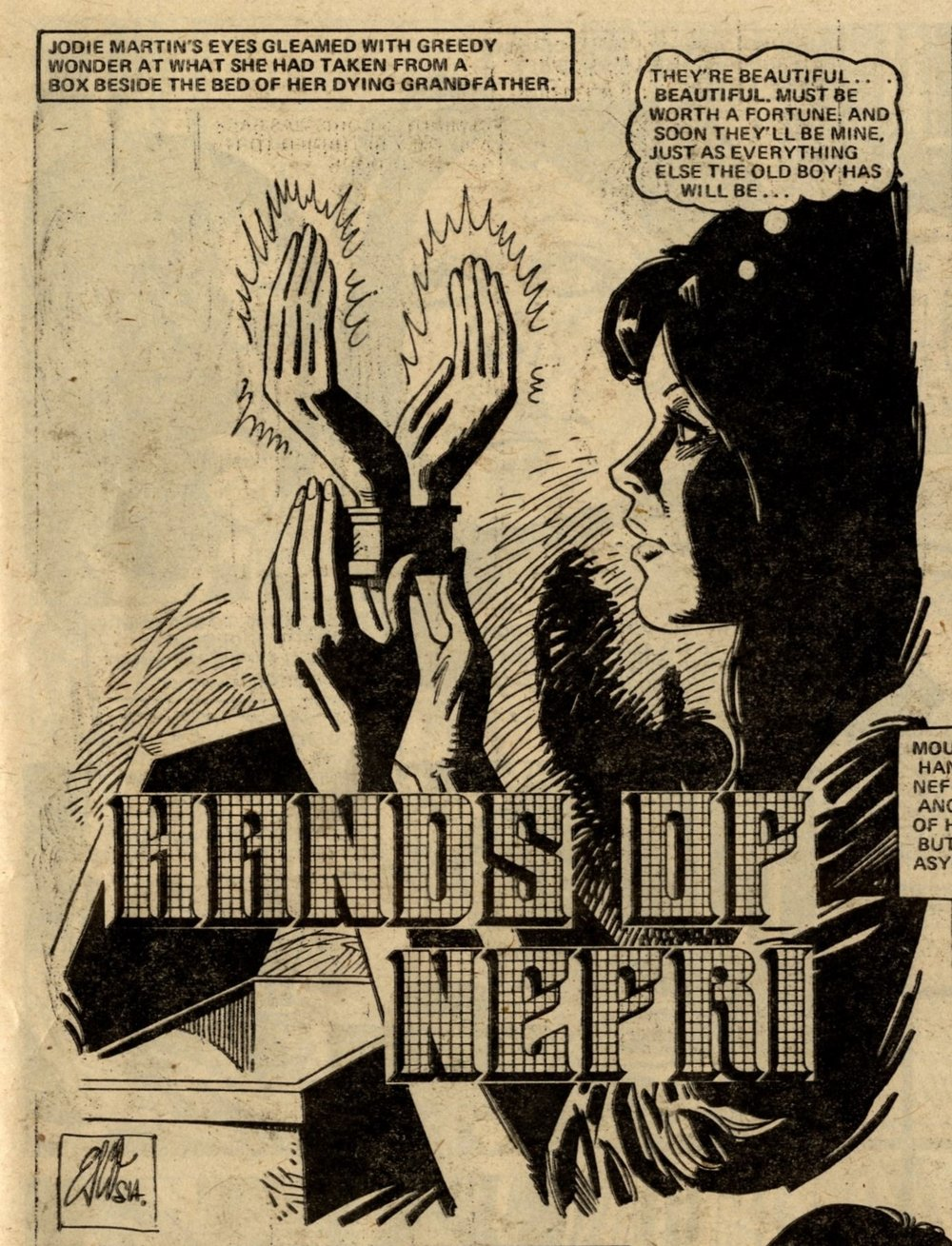 The Hands of Nefri: Ramon Metaute (artist)