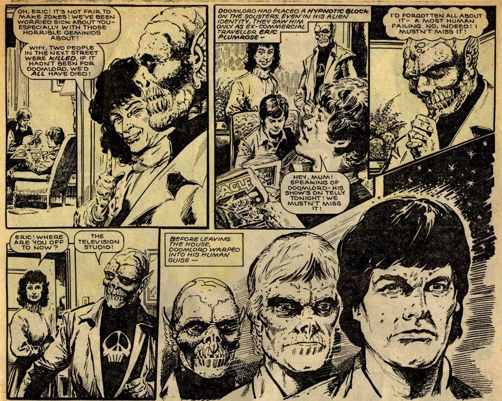 Doomlord: Alan Grant (writer), Eric Bradbury (artist)