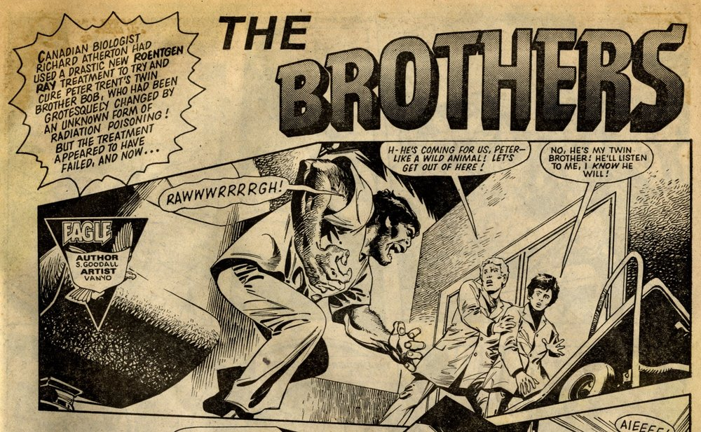 The Brothers: Scott Goodall (writer), Eduardo Vanyo (artist)