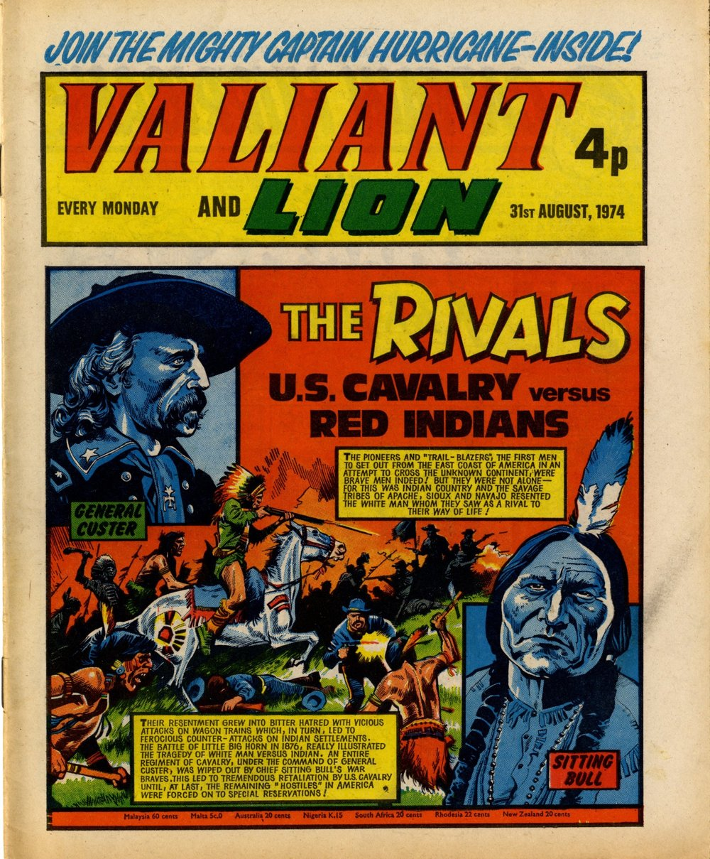 31 August 1974: Valiant and Lion (Mike Western (artist))