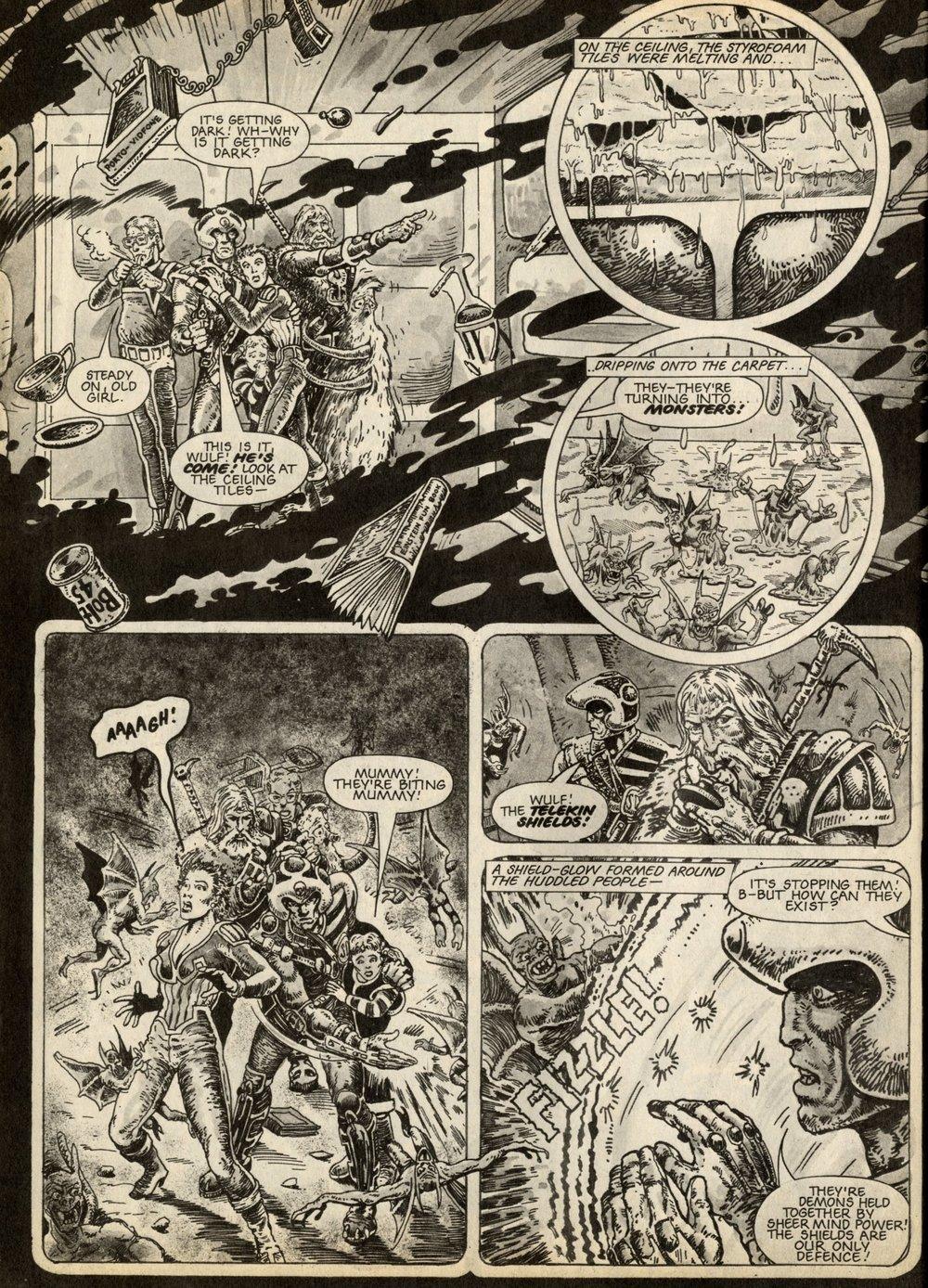 Strontium Dog: John Wagner (writer), Brendan McCarthy (artist)