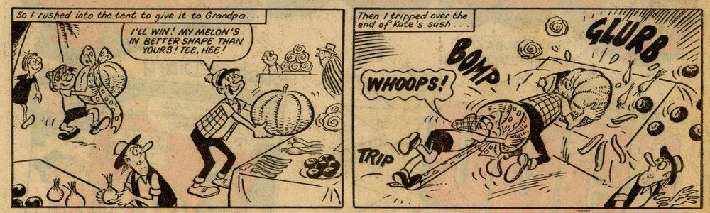 Buster's Diary: Reg Parlett (artist)