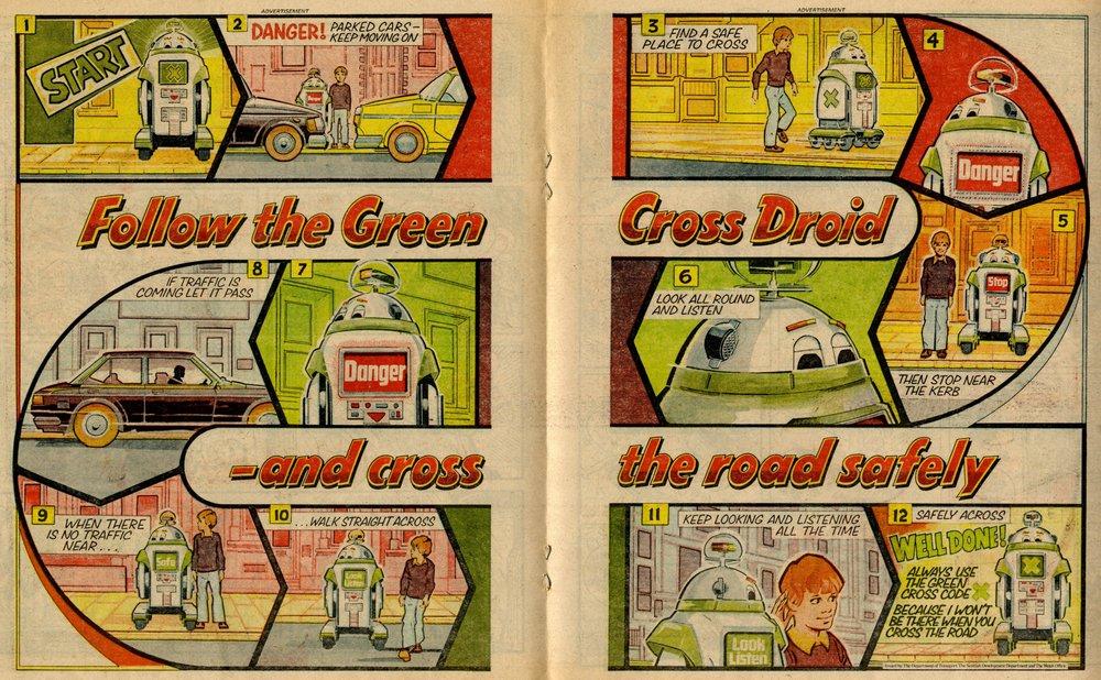 Green Cross Code: Ron Smith (artist)