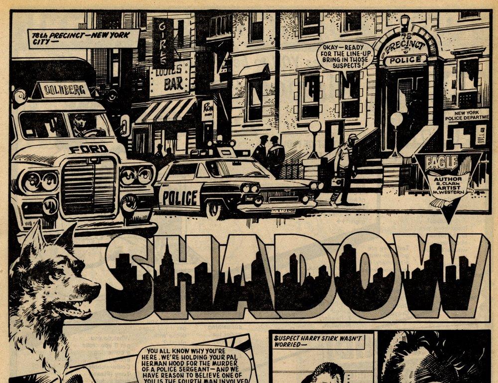 Shadow: John Wagner (writer), Mike Western (artist)