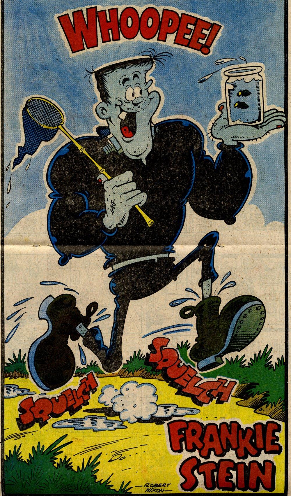 Frankie Stein poster: Robert Nixon (artist)