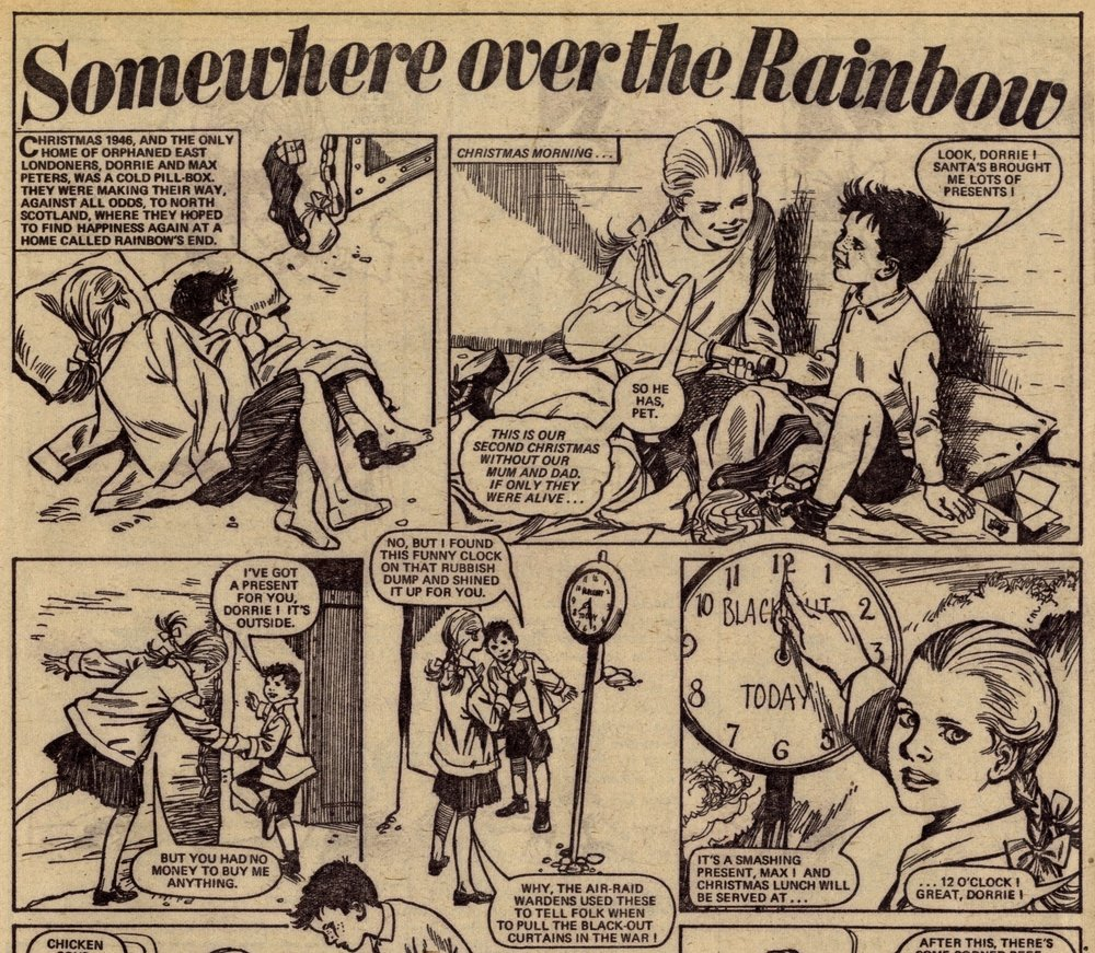 Somewhere Over the Rainbow: Alison Christie (writer), Phil Townsend (artist)