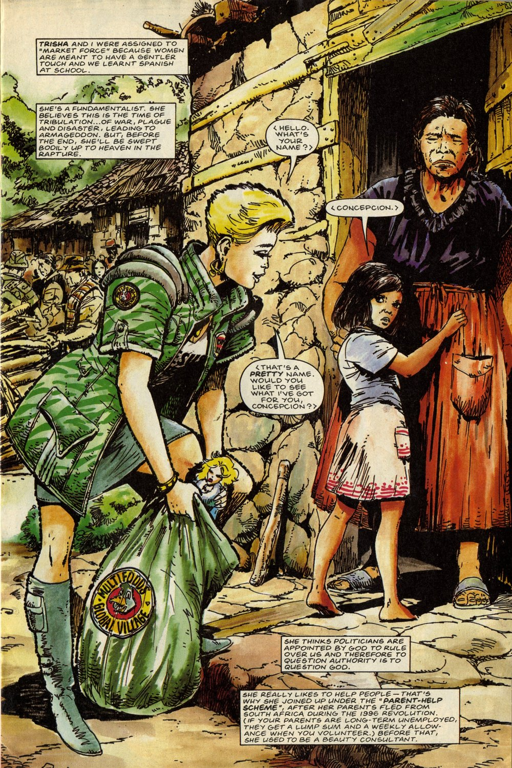 Third World War: Pat Mills (writer), Carlos Ezquerra (artist)