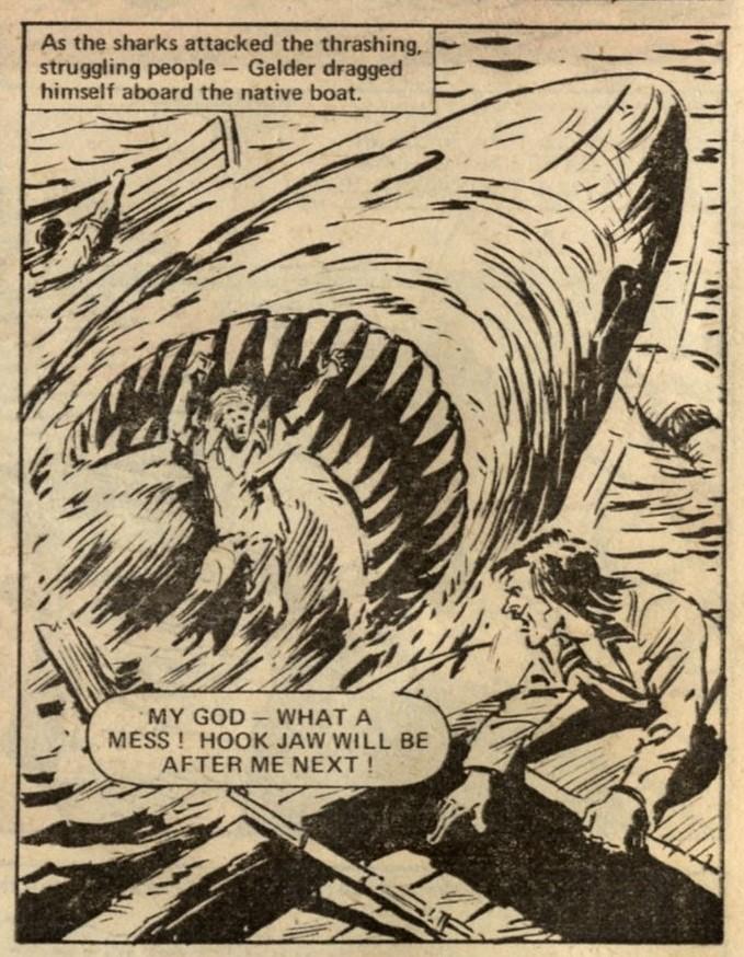 Hook Jaw: Ken Armstrong (writer),   Felix C  arrion (artist)