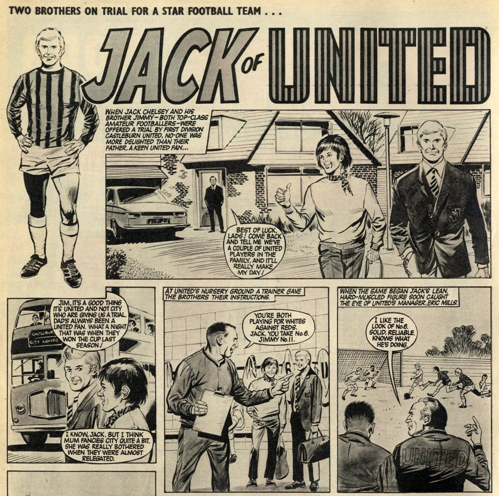 Jack of United: Barrie Mitchell (artist)