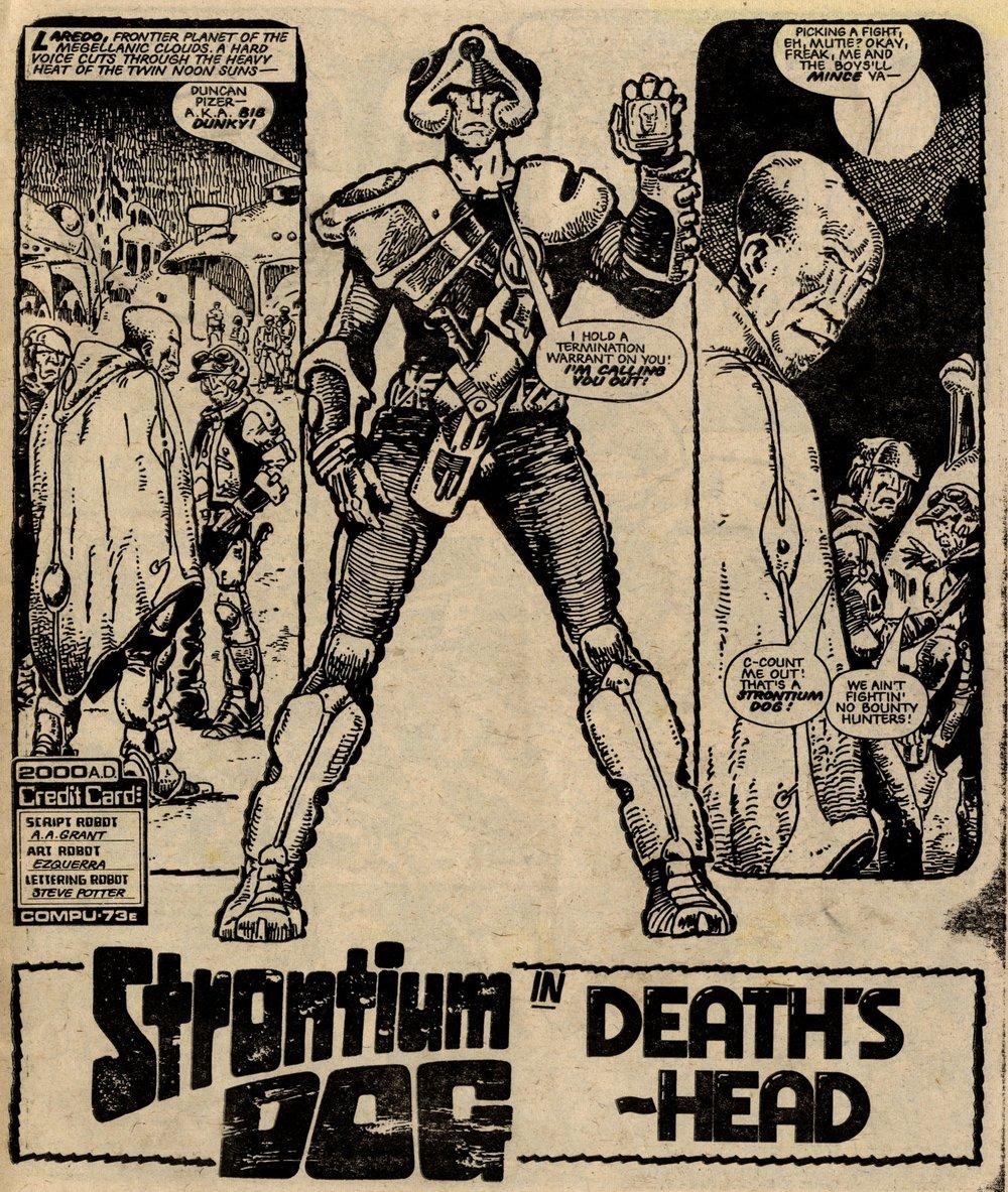 Strontium Dog: Alan Grant (writer), Carlos Ezquerra (artist)