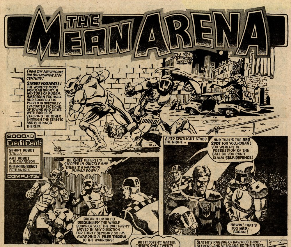 The Mean Arena: Tom Tully (writer), John Richardson (artist)