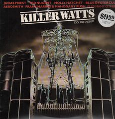 Cover of Killer Watts album, various artists, Epic, 1980