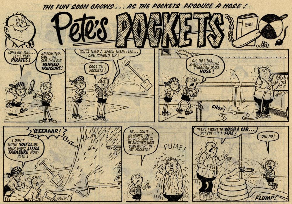 Pete's Pockets: Mike Lacey (artist)