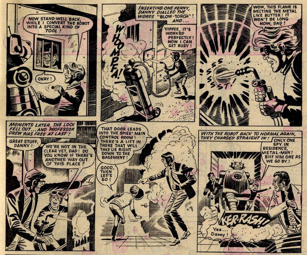 Danny Drew's Dialling Man: Ron Turner (artist)