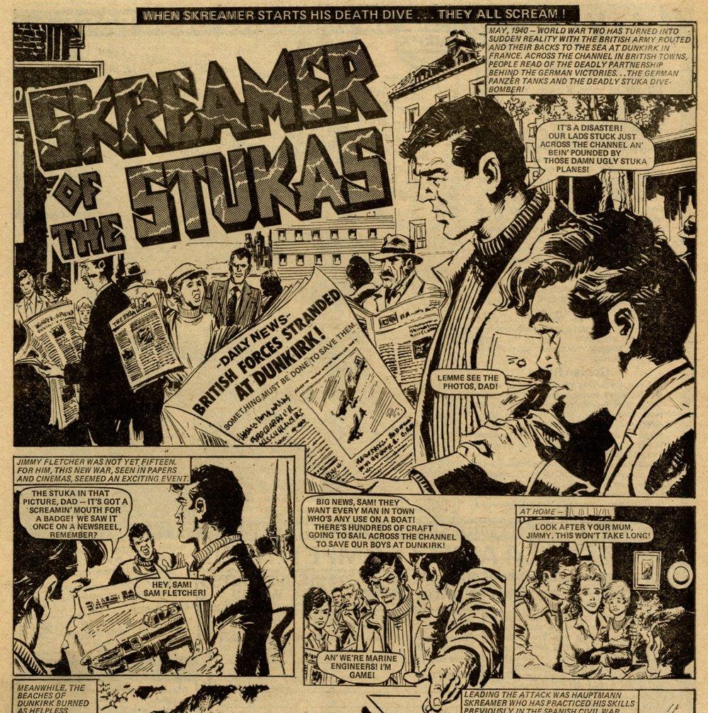 Skreamer of the Stukas: Gerry Finley-Day (writer), Rossendo Franch (artist)