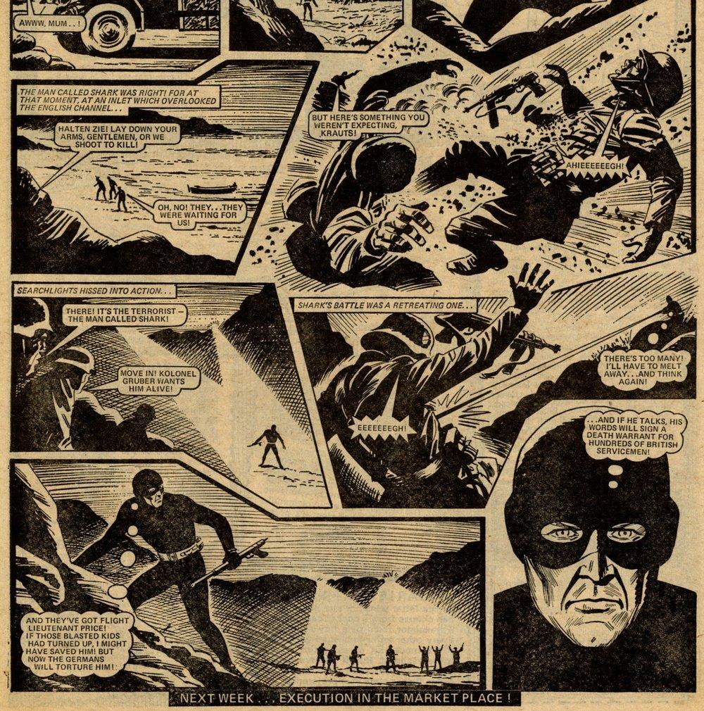Operation Shark: Tom Tully? (writer), Alex Henderson? (artist)