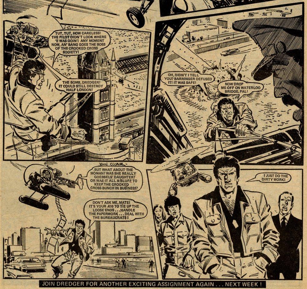 Dredger: Chris Lowder (writer), John Cooper (artist)