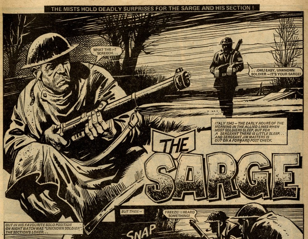 The Sarge: Gerry Finley-Day (writer), Mike Western (artist)