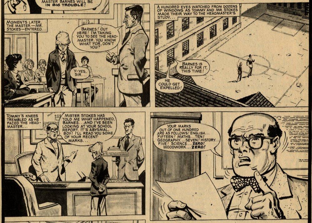 Tommy's Troubles: Fred Baker (writer), Ramiro Bujeiro (artist)