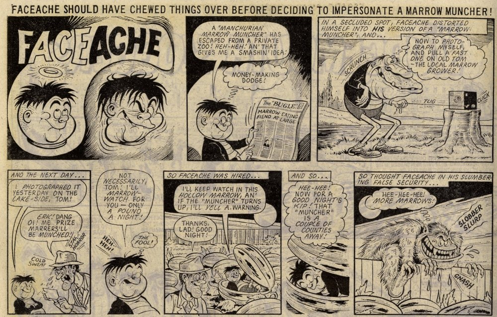 Faceache: Ken Reid (artist)