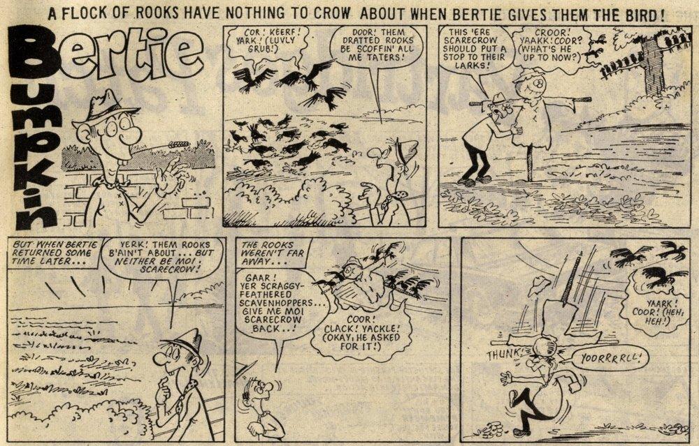 Bertie Bumpkin: Terry Bave (artist)